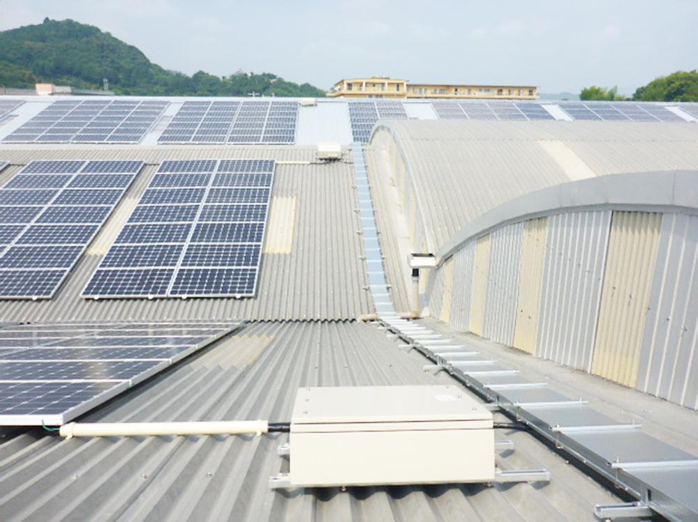 太陽光発電設備据付